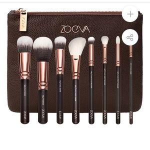 NWT ZOEVA Rose Gold Luxury Makeup Brush Set Vol 1
